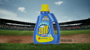 All Laundry Detergent Stainlifter TV Spot, 'Little League Baseball' - Thumbnail 1