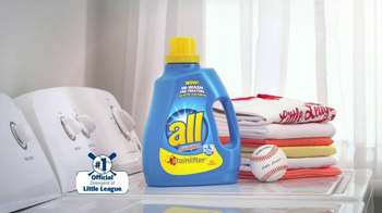All Laundry Detergent Stainlifter TV Spot, 'Little League Baseball' - Thumbnail 5