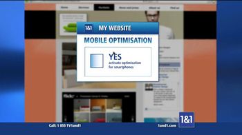 1&1 My Website TV Spot, 'Business Website' - Thumbnail 9