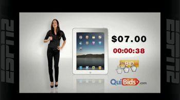 Quibids.com TV Spot, 'Auctions Start at Zero'