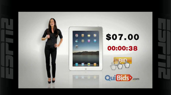 Quibids.com TV Spot, 'Auctions Start at Zero'