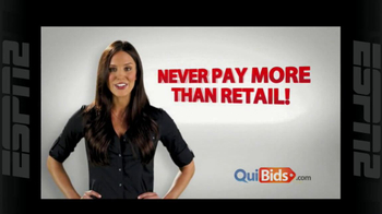 Quibids.com TV Spot, 'Auctions Start at Zero' - Thumbnail 6