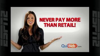 Quibids.com TV Spot, 'Auctions Start at Zero' - Thumbnail 7