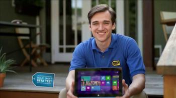 Best Buy Blue Shirt Beta Test TV Spot, 'Microsoft Surface RT'