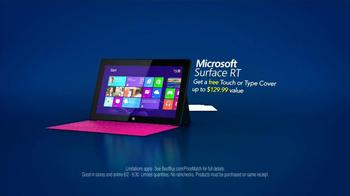 Best Buy Blue Shirt Beta Test TV Spot, 'Microsoft Surface RT' - Thumbnail 10