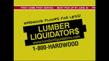 Lumber Liquidators End of Quarter  Clearance Sale TV Spot - Thumbnail 1