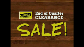 Lumber Liquidators End of Quarter  Clearance Sale TV Spot - Thumbnail 9