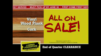 Lumber Liquidators End of Quarter  Clearance Sale TV Spot - Thumbnail 8
