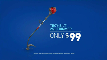 Lowe's Home Improvement TV Spot, 'Troy-Bilt Trimmer' - Thumbnail 8