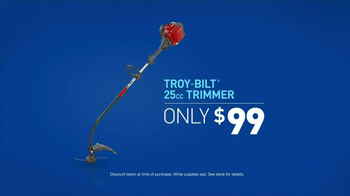 Lowe's Home Improvement TV Spot, 'Troy-Bilt Trimmer' - Thumbnail 9