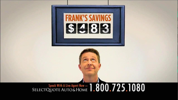 Select Quote TV Spot, 'Frank' - Thumbnail 6