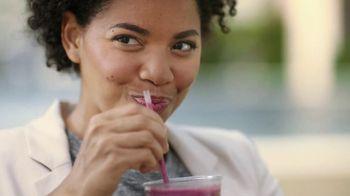 McDonald's Blueberry Pomegranate Smoothie TV Spot, 'Fountain'