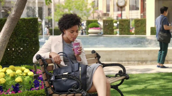 McDonald's Blueberry Pomegranate Smoothie TV Spot, 'Fountain' - Thumbnail 1