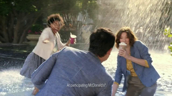 McDonald's Blueberry Pomegranate Smoothie TV Spot, 'Fountain' - Thumbnail 7