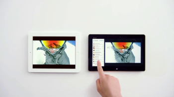 Windows 8 Tablet TV Spot, 'Just Play Chopsticks' Song by The Phantoms - Thumbnail 4