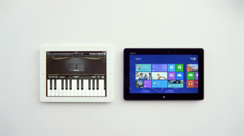 Windows 8 Tablet TV Spot, 'Just Play Chopsticks' Song by The Phantoms