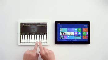 Windows 8 Tablet TV Spot, 'Just Play Chopsticks' Song by The Phantoms - Thumbnail 8