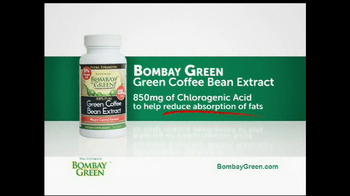 Bombay Green Green Coffee Bean Extract TV Spot - Thumbnail 3
