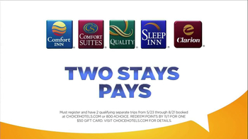 Choice Hotels TV Spot, 'Two Stays Pays' - Thumbnail 5
