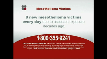 Sokolove Law TV Spot, 'Mesothelioma and Asbestos Related Cancers' - Thumbnail 5