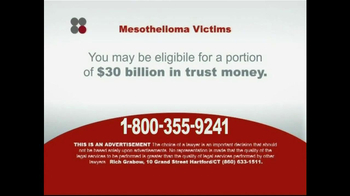 Sokolove Law TV Spot, 'Mesothelioma and Asbestos Related Cancers'
