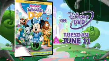 Minnie's The Wizard of Dizz DVD TV Spot