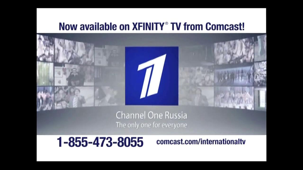 Comcast International TV Commercial, 'Channel One Russia' - Video