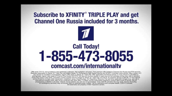 Comcast International TV Spot, 'Channel One Russia' - Thumbnail 3
