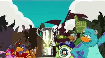 Disney Club Penguin TV Spot, 'Monsters University Takeover' - Thumbnail 9