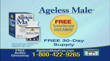 Ageless Male Giveaway TV Spot - Thumbnail 8