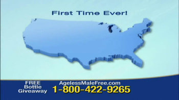 Ageless Male Giveaway TV Spot - Thumbnail 2