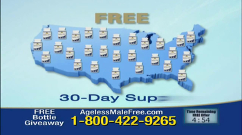 Ageless Male Giveaway TV Spot - Thumbnail 3