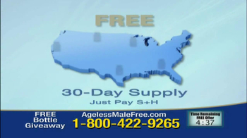 Ageless Male Giveaway TV Spot - Thumbnail 6