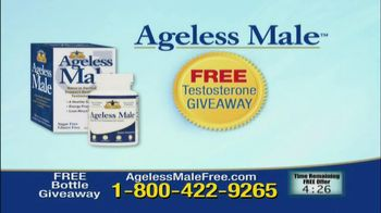 Ageless Male Giveaway TV Spot