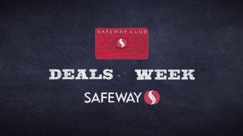 Safeway Deals of the Week TV Spot, 'Coca-Cola, Lean Cuisine' - Thumbnail 1