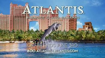 Atlantis Free Taste of Atlantis Pass TV Spot, 'Memorial Day Sale' - Thumbnail 10