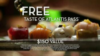 Atlantis Free Taste of Atlantis Pass TV Spot, 'Memorial Day Sale' - Thumbnail 5