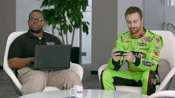 Go Daddy TV Spot, 'Right Name' Featuring Danica Patrick and James Hinchclif - Thumbnail 2