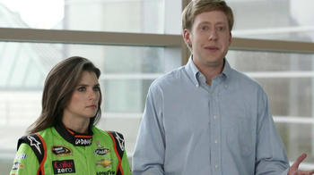 Go Daddy TV Spot, 'Right Name' Featuring Danica Patrick and James Hinchclif