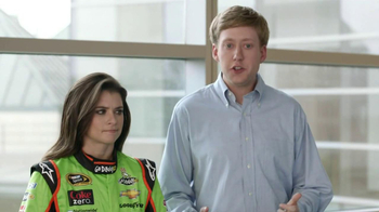 Go Daddy TV Spot, 'Right Name' Featuring Danica Patrick and James Hinchclif - Thumbnail 4
