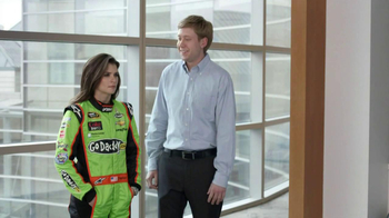 Go Daddy TV Spot, 'Right Name' Featuring Danica Patrick and James Hinchclif - Thumbnail 8