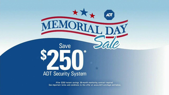 ADT Memorial Day Sale TV Spot - Thumbnail 1