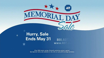 ADT Memorial Day Sale TV Spot - Thumbnail 2