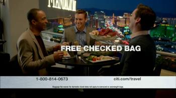 Citi Platinum Select AAdvantage Card TV Spot, 'Faster' - Thumbnail 4