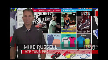 Tennis Express TV Spot, 'Selection' Featuring Mike Russell - Thumbnail 2