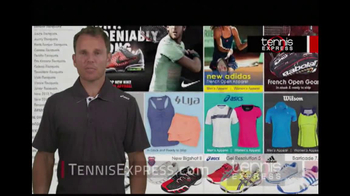 Tennis Express TV Spot, 'Selection' Featuring Mike Russell - Thumbnail 3