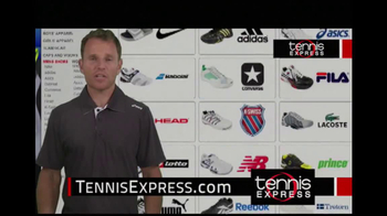 Tennis Express TV Spot, 'Selection' Featuring Mike Russell - Thumbnail 4
