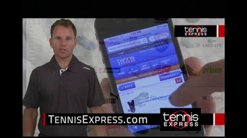 Tennis Express TV Spot, 'Selection' Featuring Mike Russell - Thumbnail 6