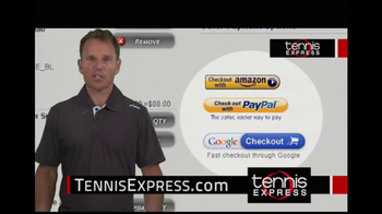 Tennis Express TV Spot, 'Selection' Featuring Mike Russell - Thumbnail 7