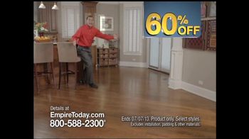 Empire Today 60% Off Sale TV Spot